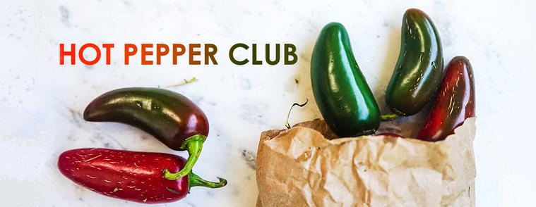 Hot Pepper Club Banner
