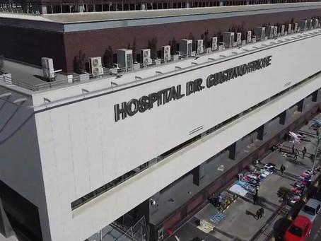 Paciente se lanza del sexto piso de hospital en Valparaíso por sospechas de COVID-19