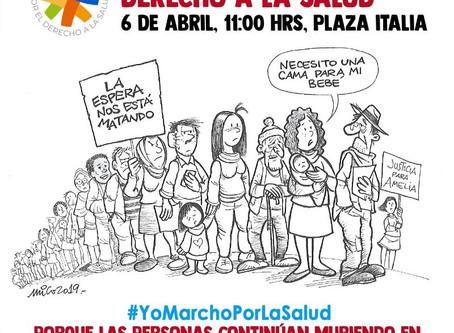 Vamos todos y todas a la Gran marcha por la Salud