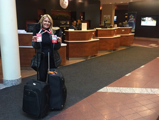 Arrival in Ottawa! Getting Ready for Grey Cup Festivities!