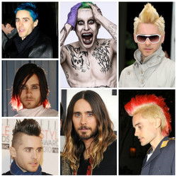 Jared Leto's Haristyles!