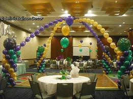 Dance floor balloon design