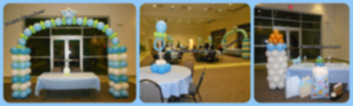 Balloon Decorations for a Baby Shower
