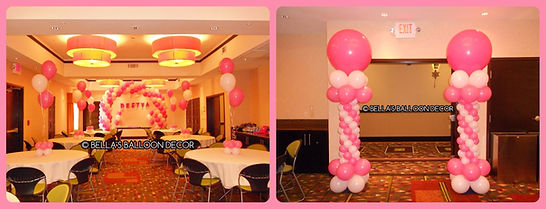Balloon Decorations for a Kid's Birthday party