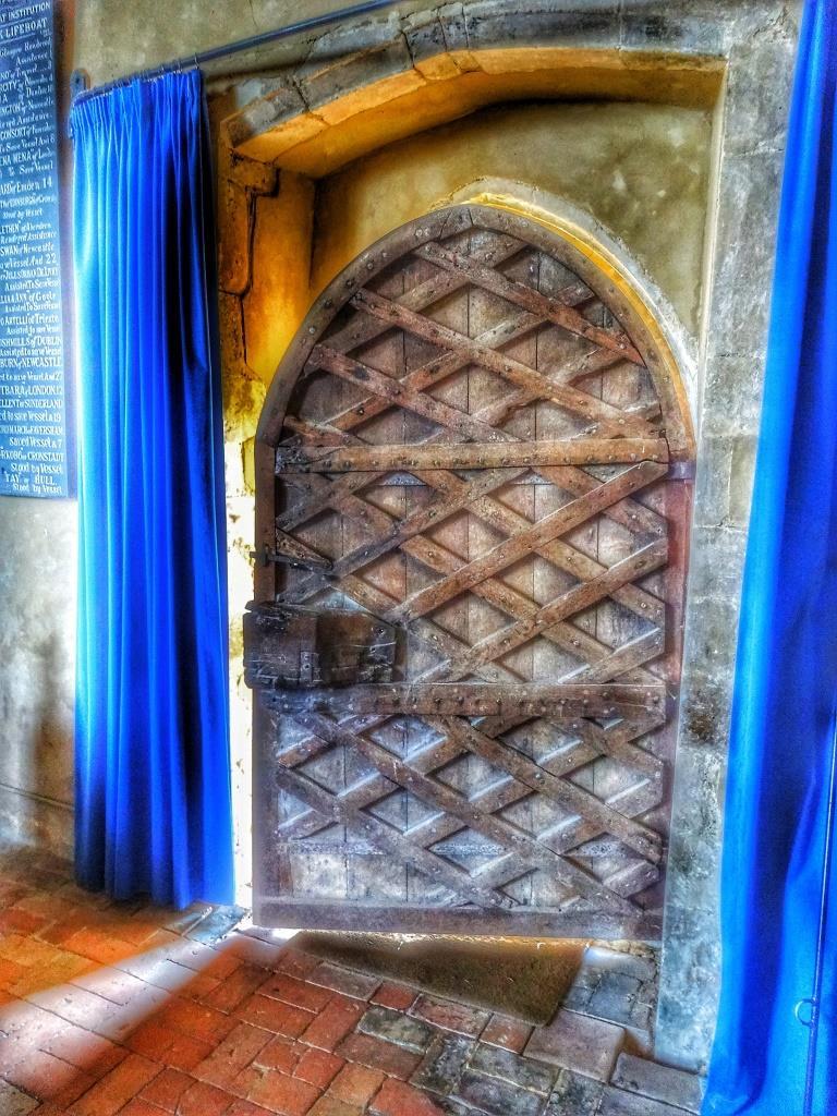 6. Reverse of door detail