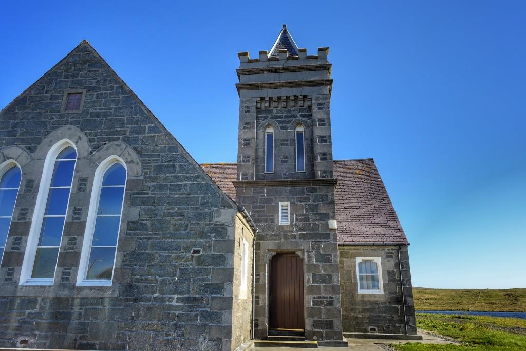 3. Kilmur Church, North Uist
