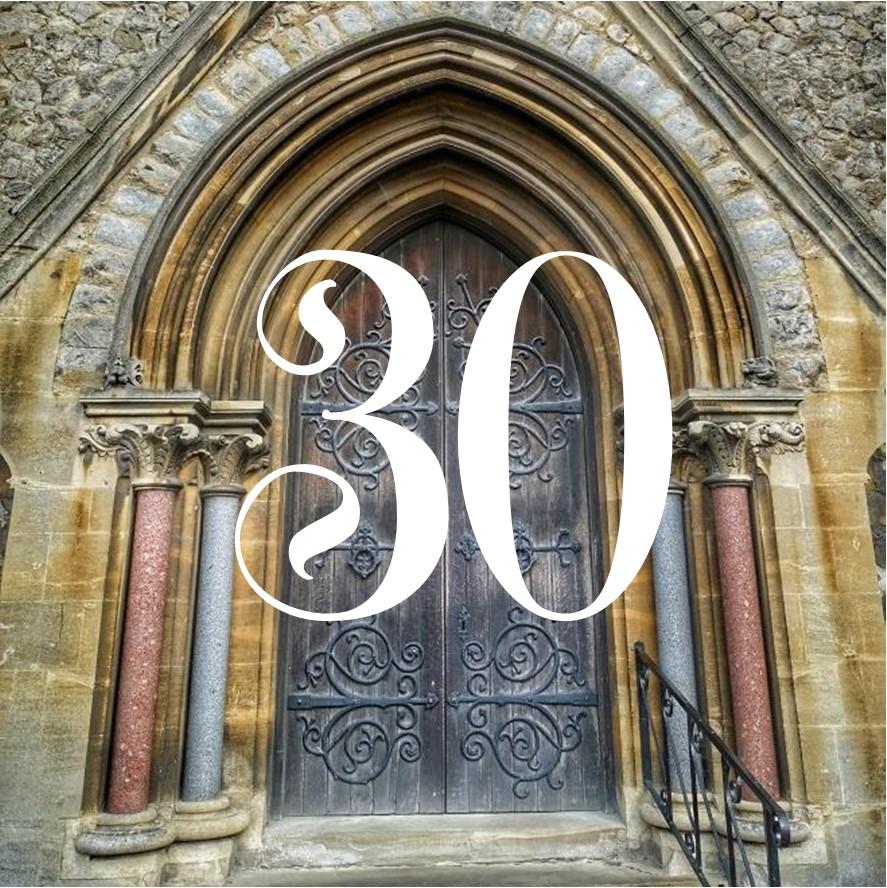30th. Cowper Memorial Church,  Dereham
