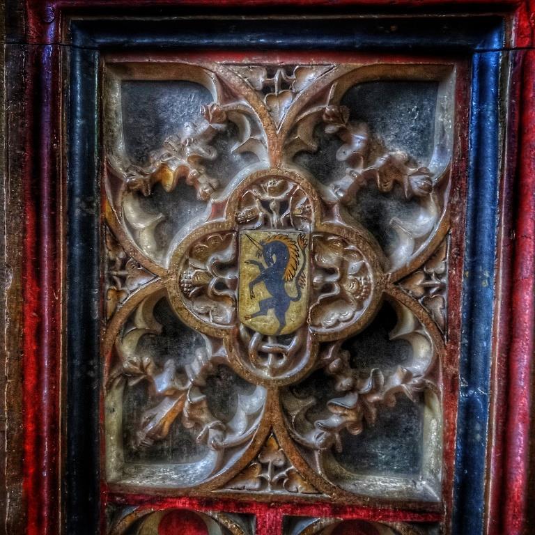 9. Original rood screen detail
