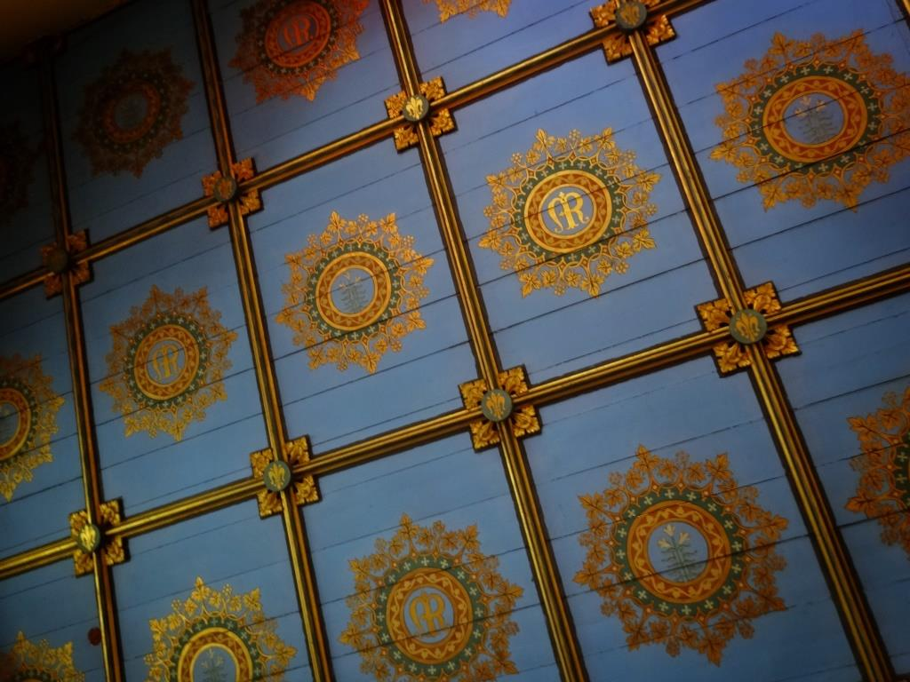 15. Ceiling of Lady Chapel