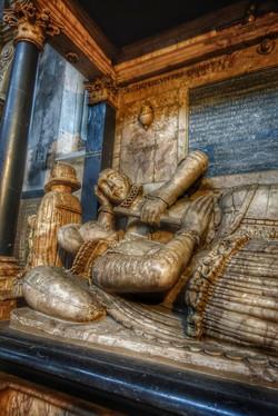 29. Sir John Suckling memorial detail