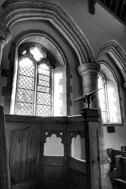9. Arcade of old south aisle