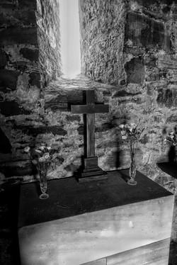 14. Side chapel altar