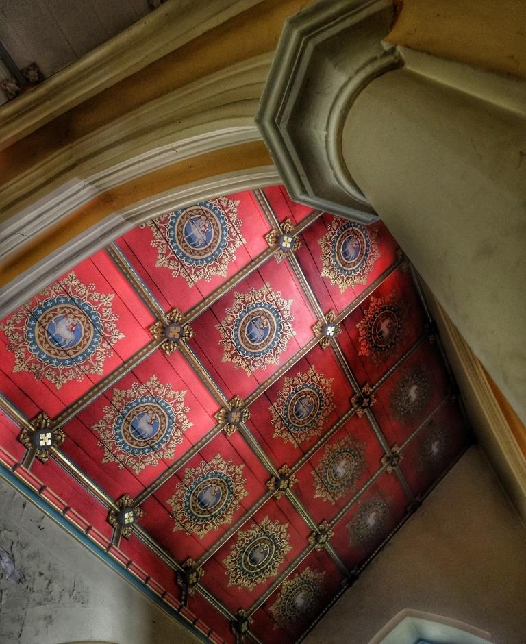 24. Ceiling of Sacred Heart Chapel