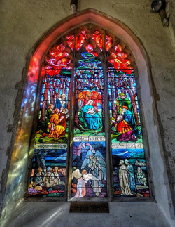 9. Mary Lowndes window