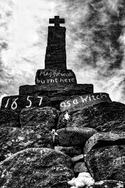 Maggie Wall Witch Memorial