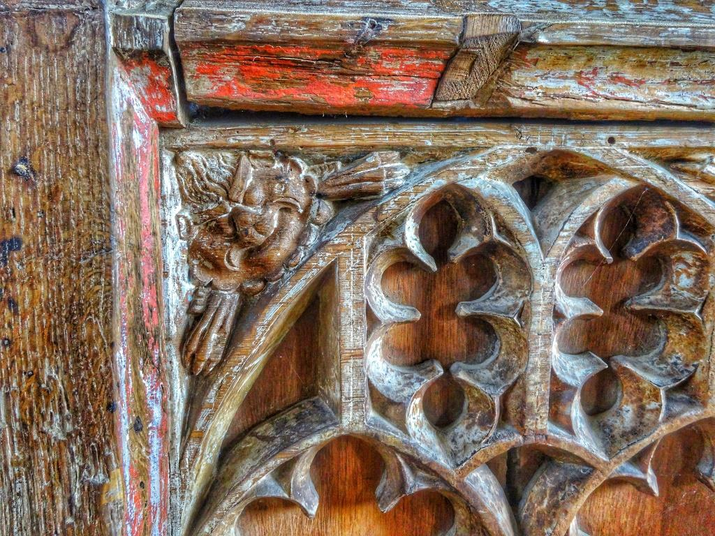 15. Rood screen detail