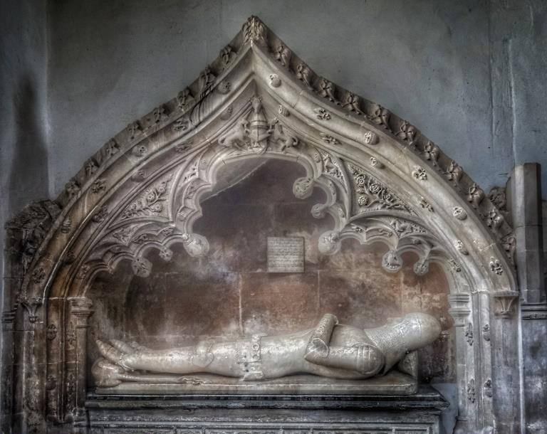 34. The Harling tomb