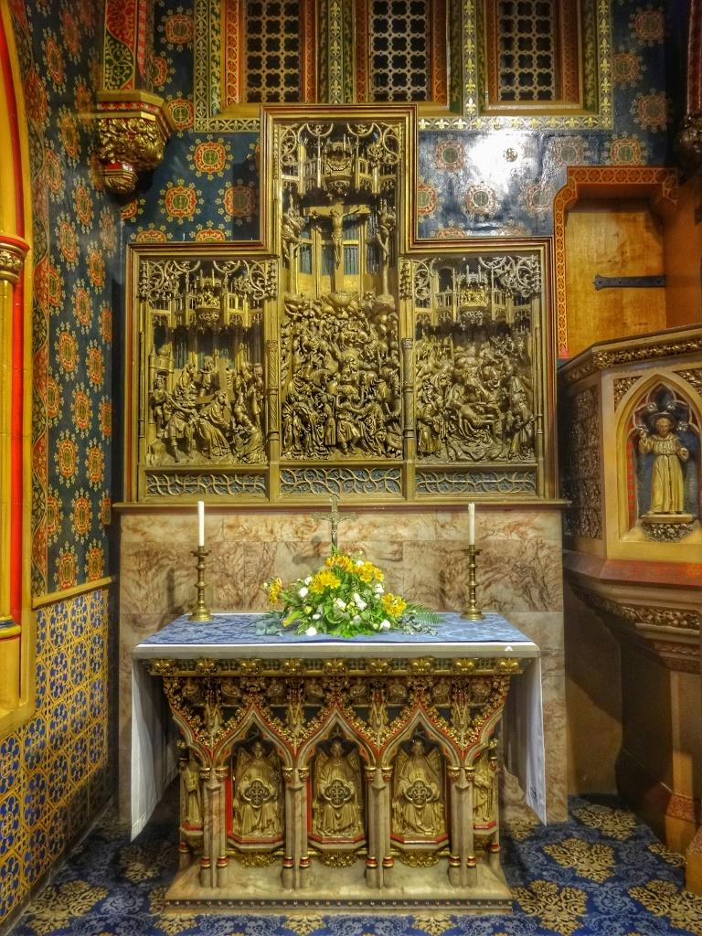 40. The Lady Chapel altar