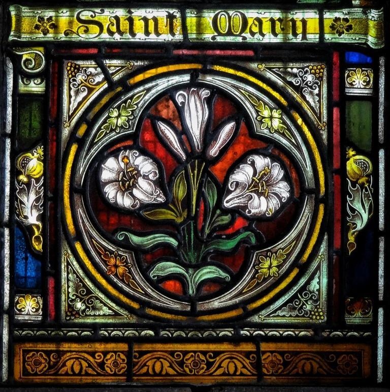 18. Lady Chapel window detail