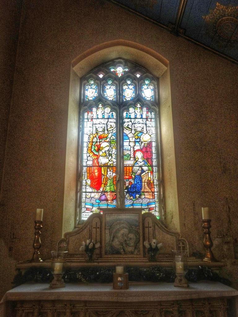 13. Annunciation window by Hardman