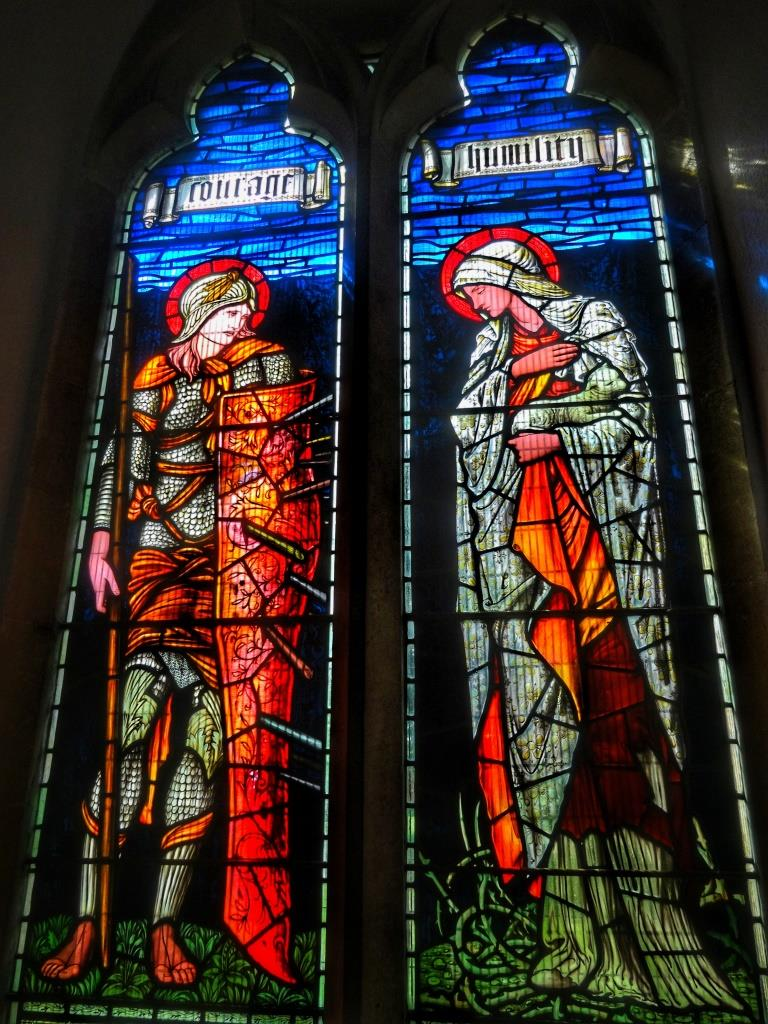 11. Edward Burne-Jones window