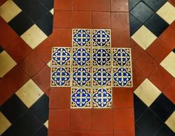 31. Chancel tiles