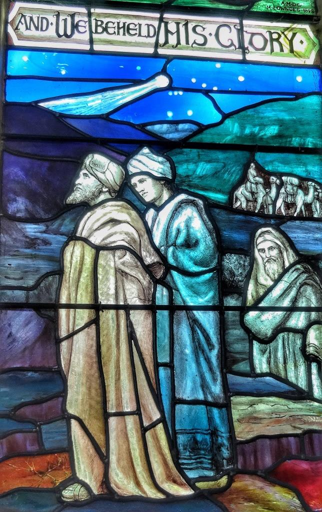 7. Mary Lowndes window detail