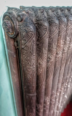 9. Ornate radiator detail