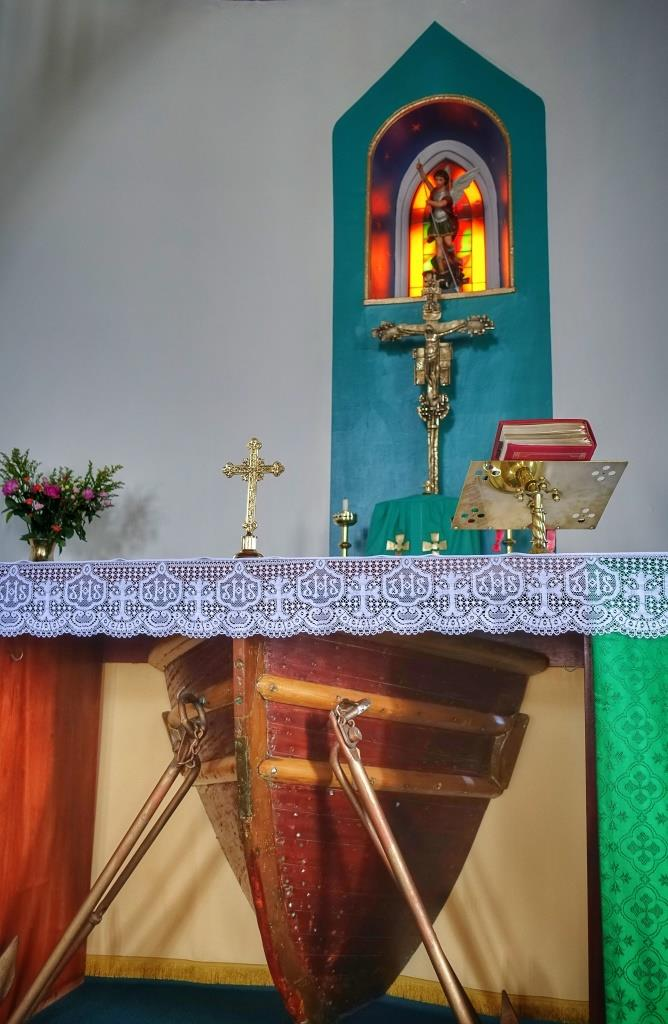 13. St Michael, Eriskay