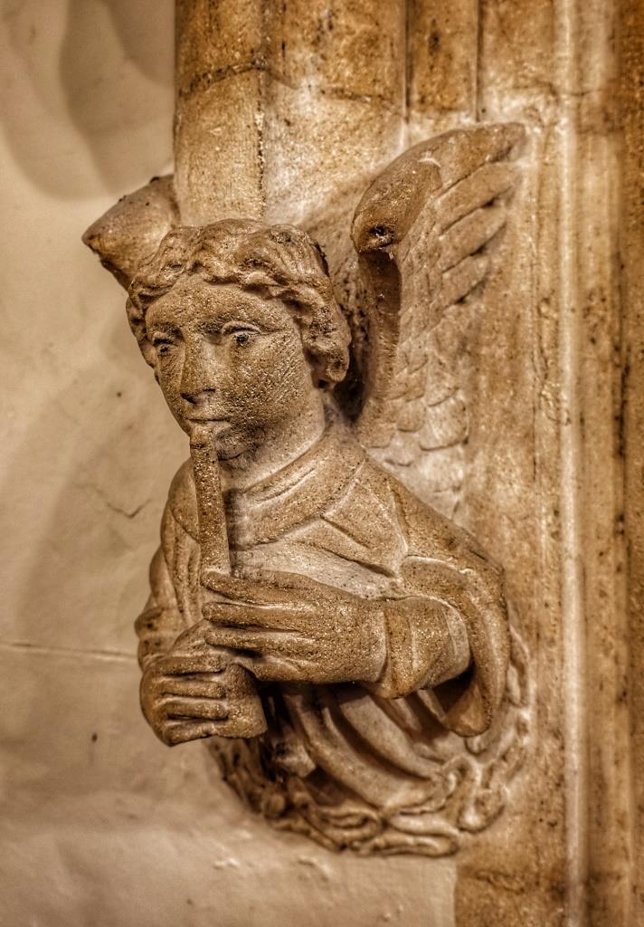 25. Angel corbel detail
