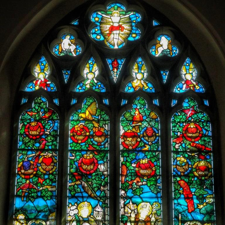 9. Charles Eamer Kempe east window