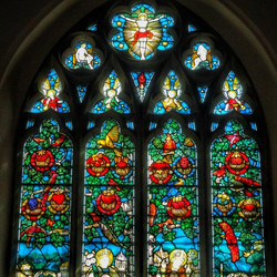 9. Charles Eamer Kempe east window