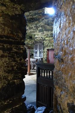 12. View through altar squint