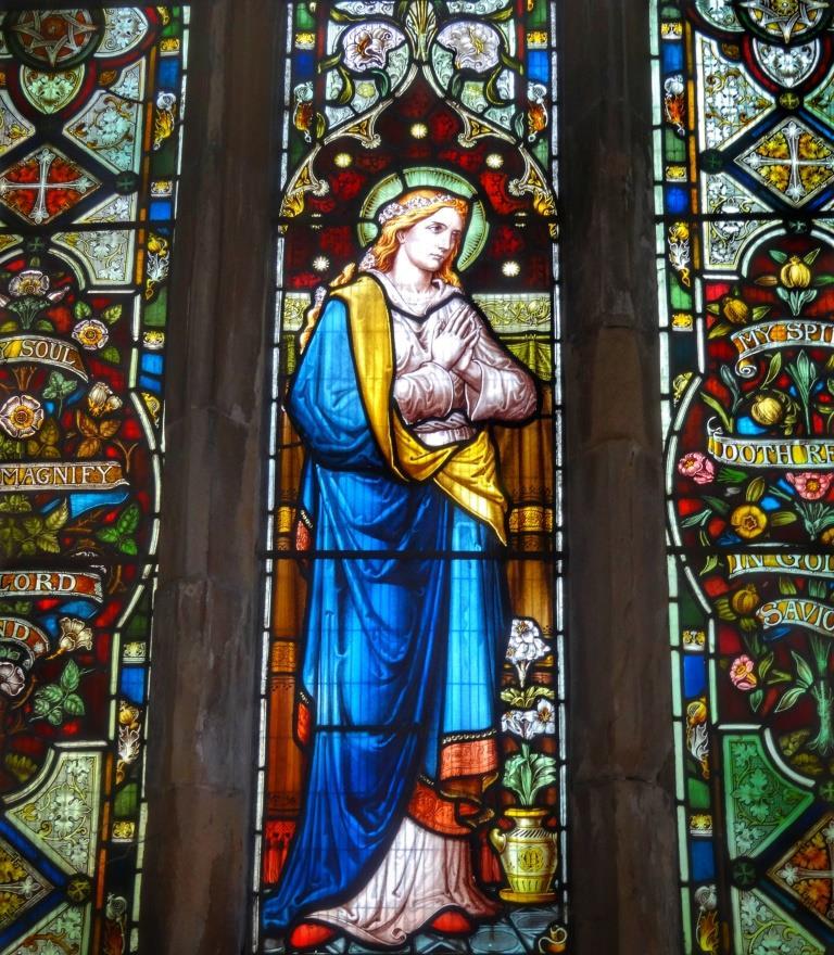 13. Lady Chapel window