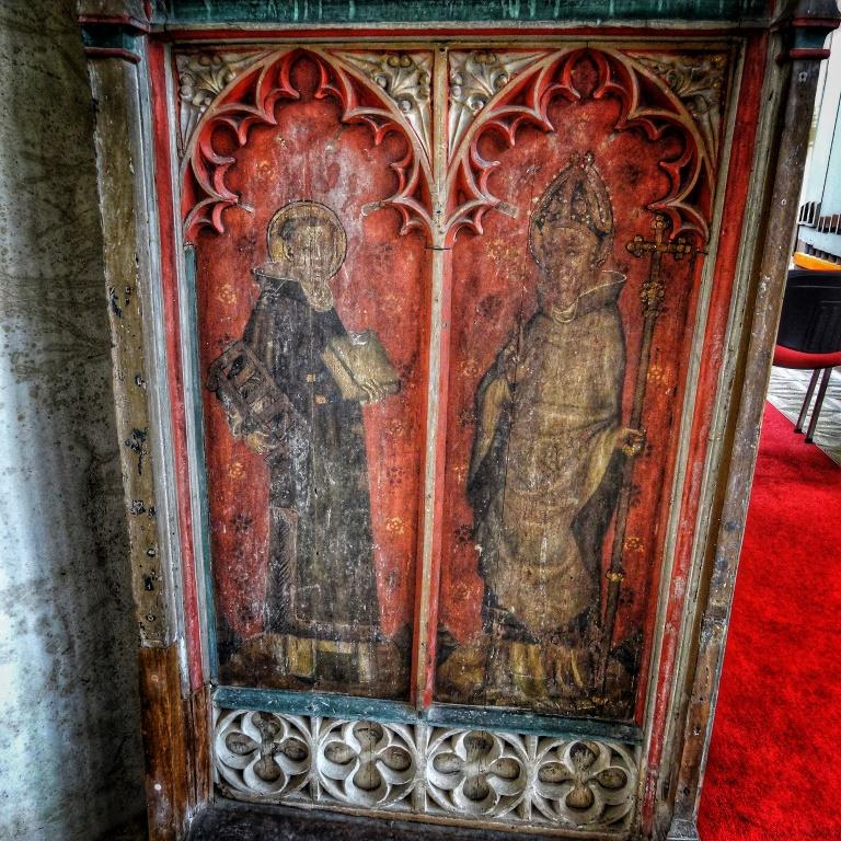 22. Rood screen detail