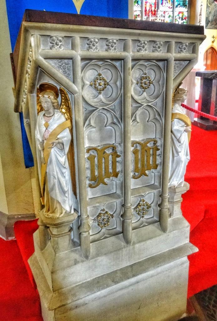 10. Pugin pulpit