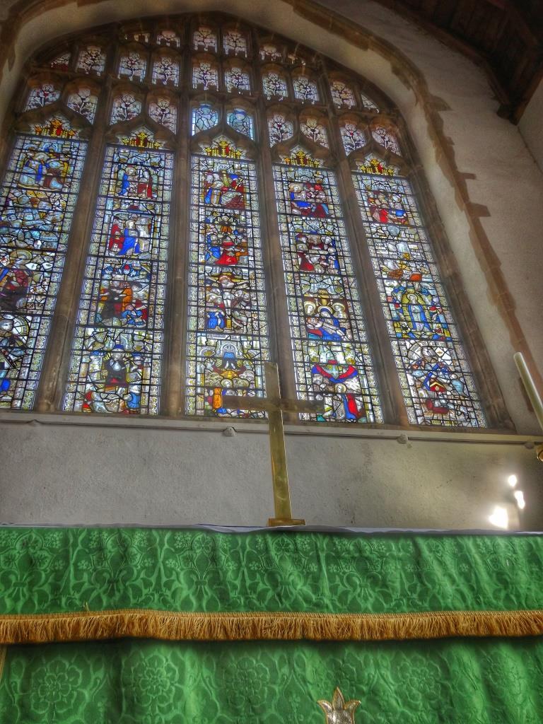 20. The east window
