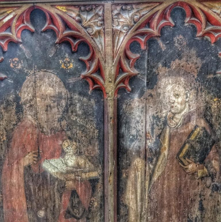 11. Rood screen detail