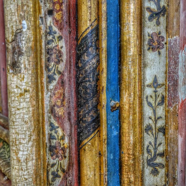 24. Rood screen detail