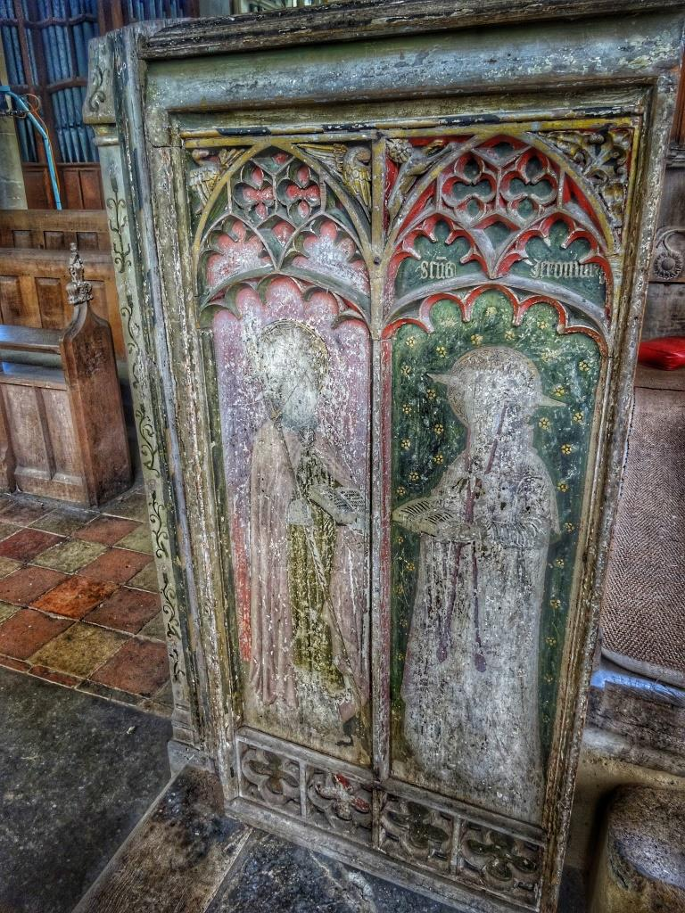 16. Rood screen paintings