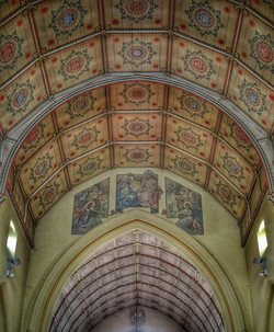 5. Nave ceiling
