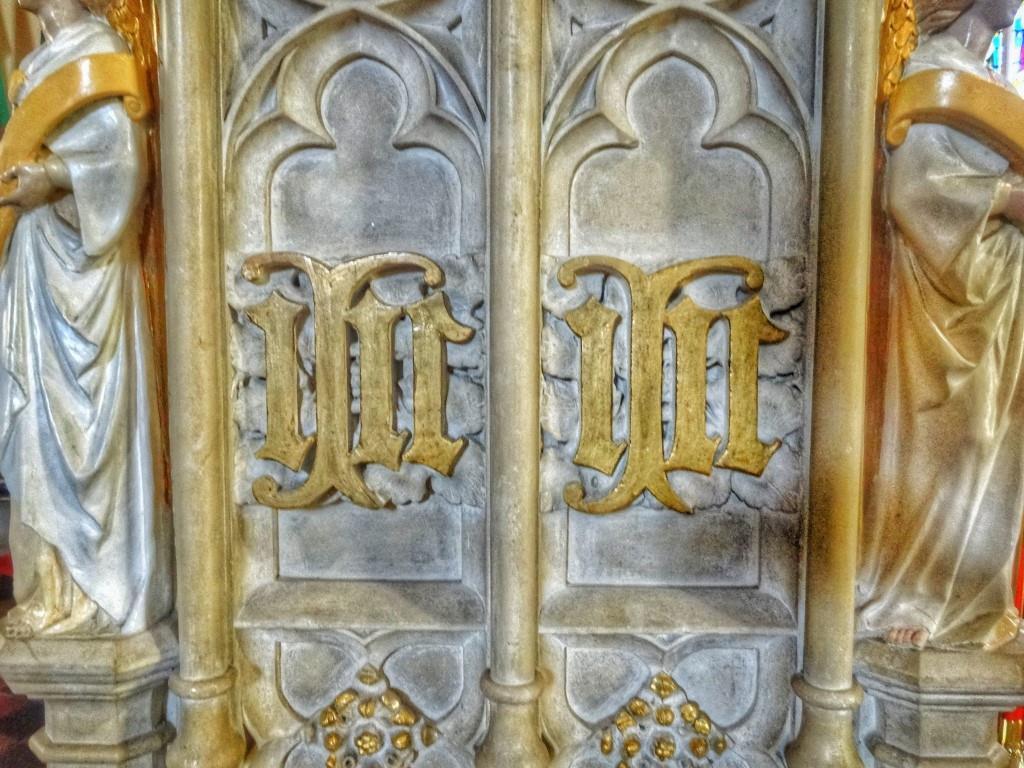 25. Pugin pulpit detail