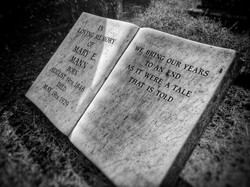 3. The grave of Mary Mann