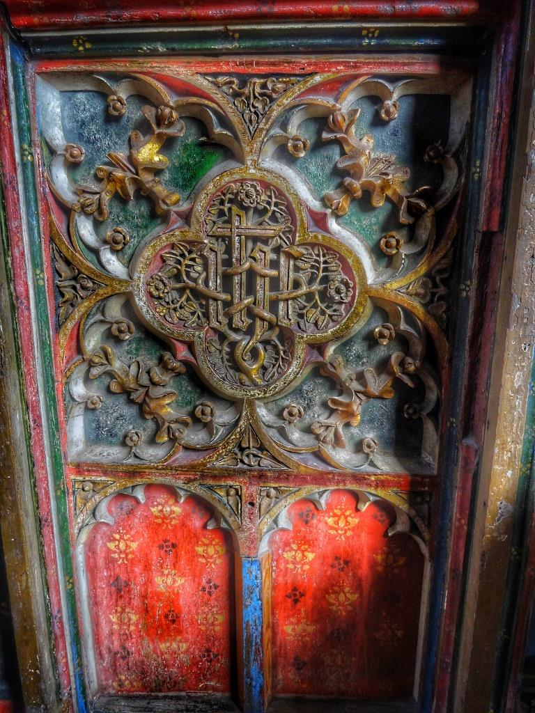 8. Original rood screen detail