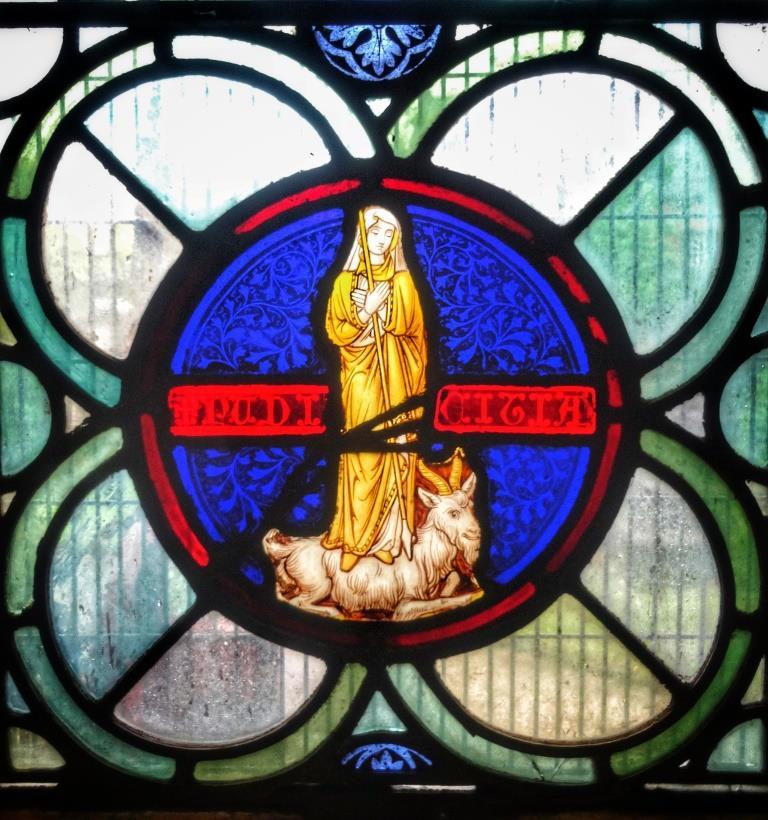 13. Baptisery window detail