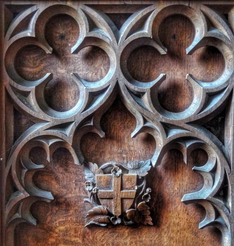 20. Pulpit carving detail