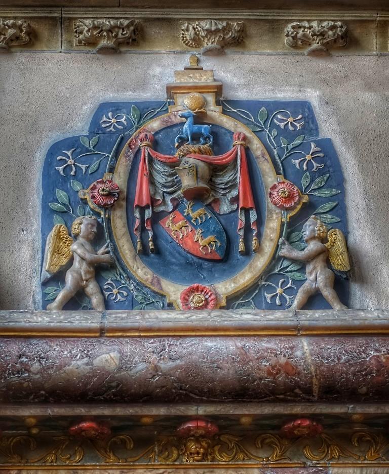 34. Memorial to Sir Robert & Lady Elizabeth Suckling