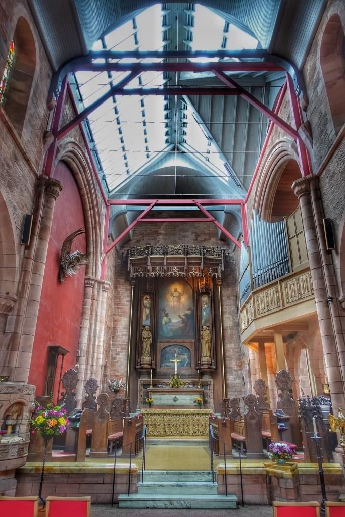 1.  St John's Cathedral, Oban