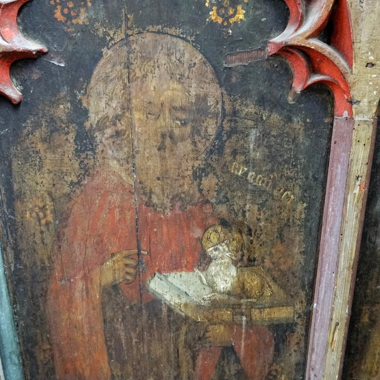 10. Rood screen detail