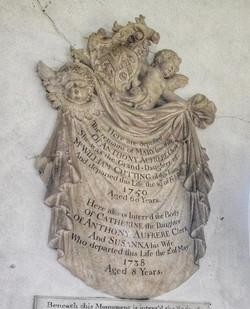 12. Mary Aufrere memorial